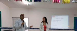 "Comissão OAB Vai à Escola realiza palestra sobre ""A importância da Família"" na Escola Pública EPG. Vereador Carlos Franchin"