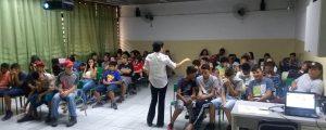 "Comissão OAB Vai à Escola realiza palestra sobre ""Cidadania e Cyberbullying"" na Escola Pública EPG Louis Braille"