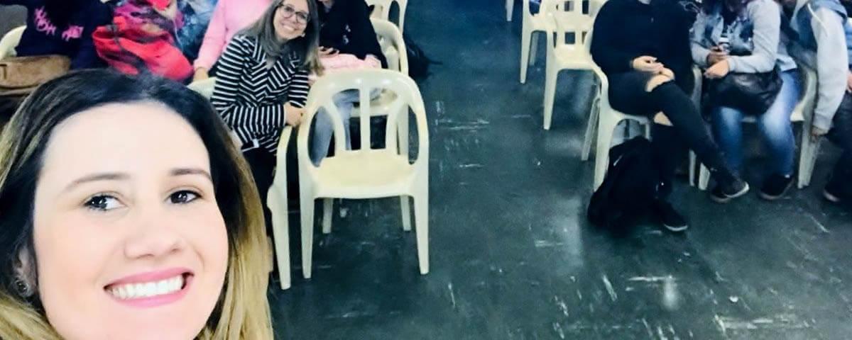 """Comissão OAB Vai à Escola realiza palestra sobre """"Empreendedorismo Digital"""" na Escola EEPG Francisco Antunes Filho"""