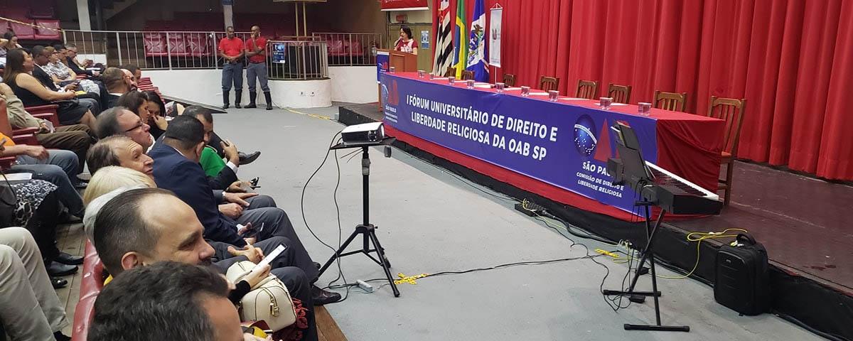 I Fórum Universitário de Direito e Liberdade Religiosa da OAB/SP