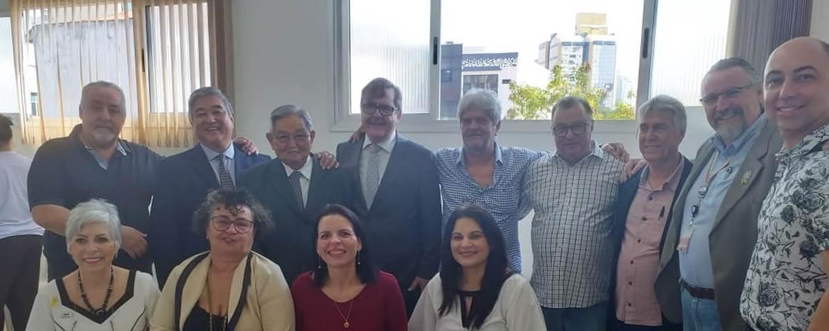 OAB Guarulhos presente na Inauguração das Novas Instalações do Ambulatório do Idoso da Irmandade de Santa Casa de Misericórdia de Guarulhos