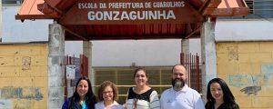 """OAB Guarulhos presente na ação social """"Dia de Quem Cuida de Mim"""" na Escola da Prefeitura de Guarulhos Gonzaguinha"""