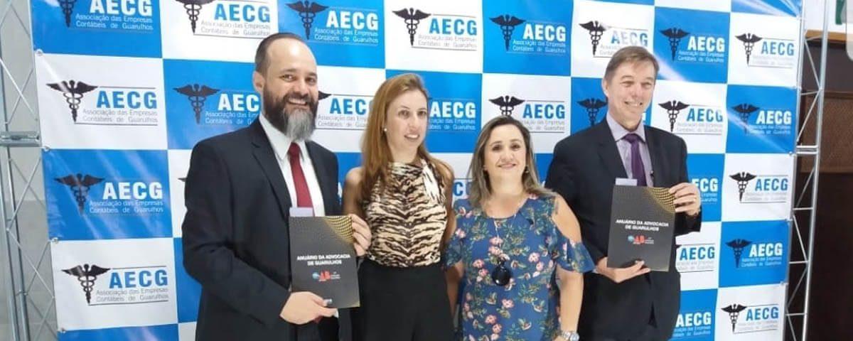 OAB Guarulhos presente no 3º Encontro de Negócios da AECG