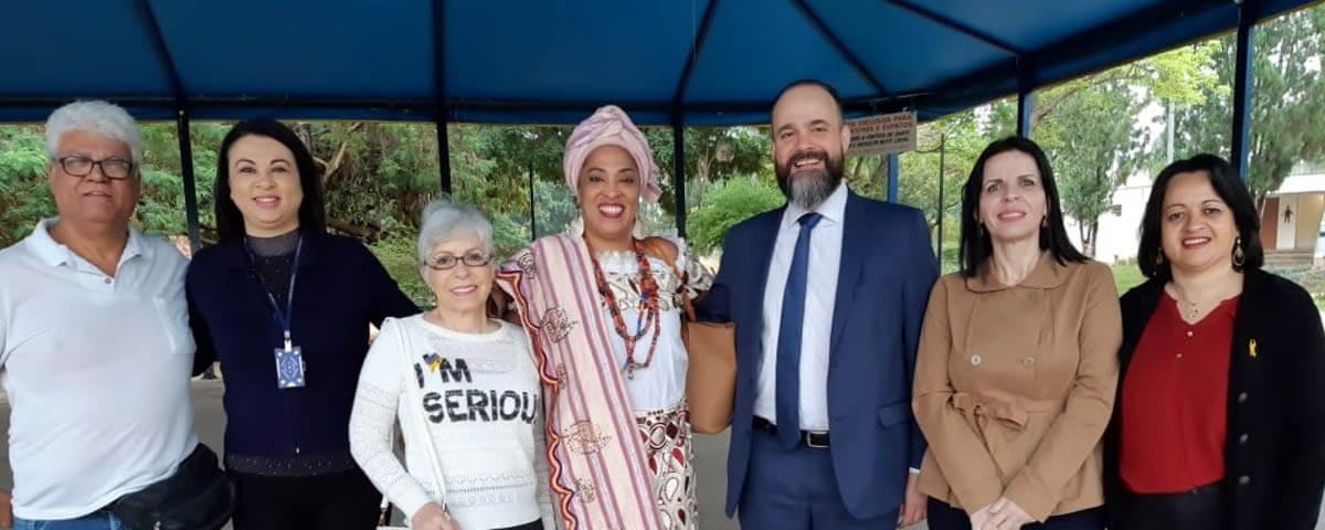 """OAB Guarulhos presente no Ato: """"Guarulhos de Mãos Dadas Pela Paz"""", promovido pela Prefeitura Municipal e Entidades Civis"""