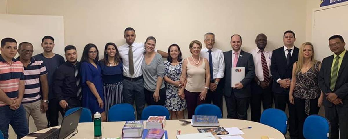 OAB Guarulhos realiza vistoria no Núcleo de Prática Jurídica da Faculdade Progresso