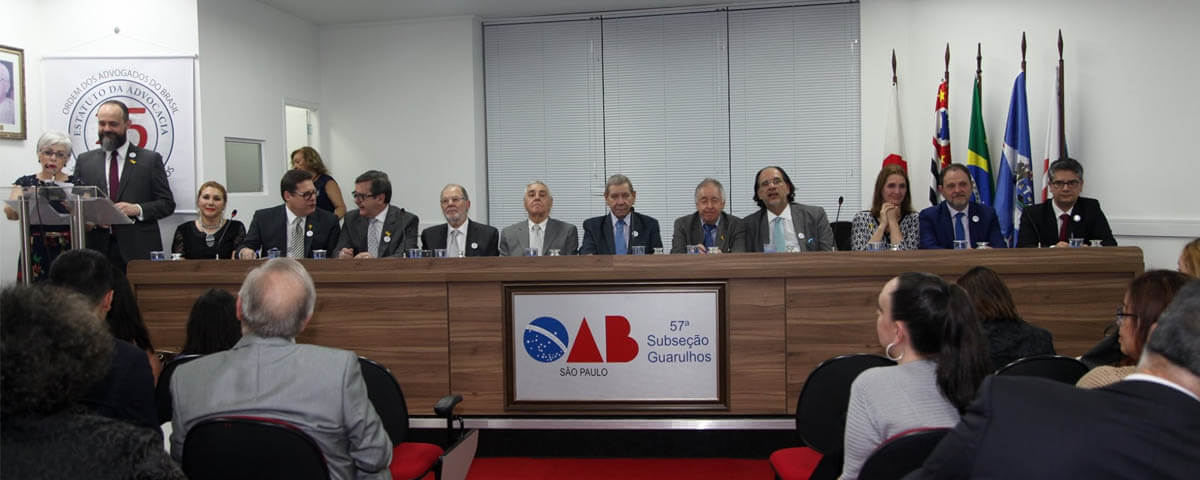 You are currently viewing Solenidade do 43º Aniversário da OAB Guarulhos