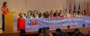 """(Vídeo) – """"I Circuito de Ações de Combate à Violência Contra a Mulher"""" – Mensagem da Diretora Tesoureira da OAB/SP Dra. Raquel Elita Alves Preto"""
