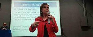 """(Vídeo) """"I Circuito de Ações de Combate à Violência Contra a Mulher"""" – Palestra da Dra. Alice Bianchini – Faculdade ENIAC – 02"""