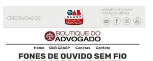 Read more about the article Boutique do Advogado