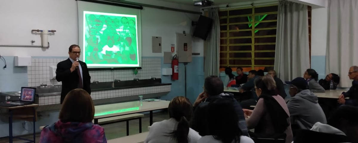 """Comissão OAB Vai à Escola ministra palestra sobre """"Direito de Família"""" na Escola EPG Anísio Teixeira"""