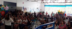 """Comissão OAB Vai à Escola, ministra palestra sobre """"Família"""" na Escola Pública de Guarulhos EPG. Prof. Pedro Geraldo Barbosa"""