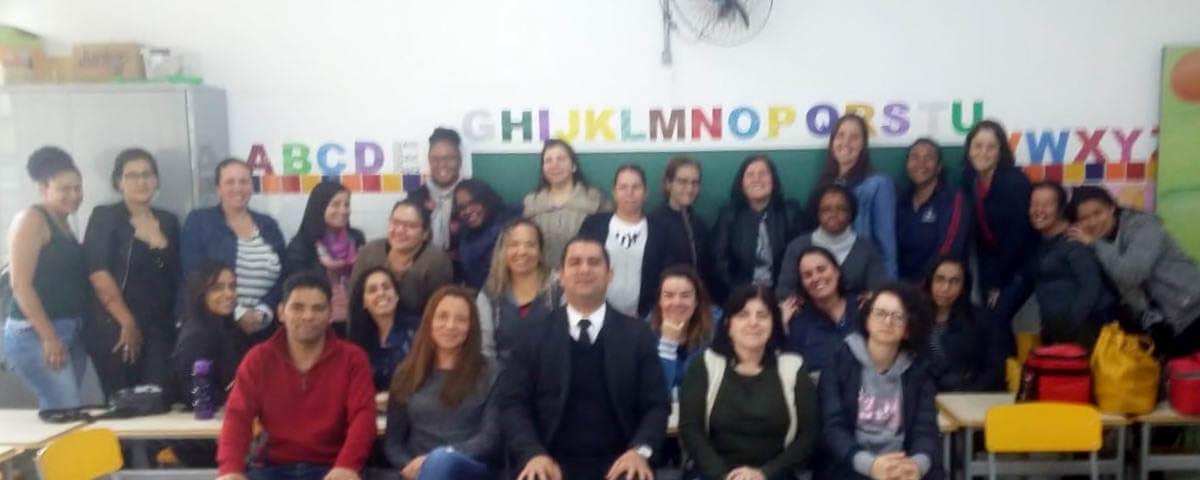 """Comissão OAB Vai à Escola realiza palestra sobre o """"ECA"""" na Escola EPG. Zumbi dos Palmares"""