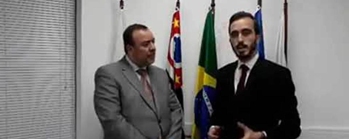 Comissão de Comunicação entrevista o Palestrante e Juiz do Tribunal Militar do Estado de São Paulo, Dr. Ronaldo João Roth