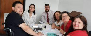 Comissão do Idoso e Pessoa com Deficiência realiza mais uma reunião de planejamento e deliberações