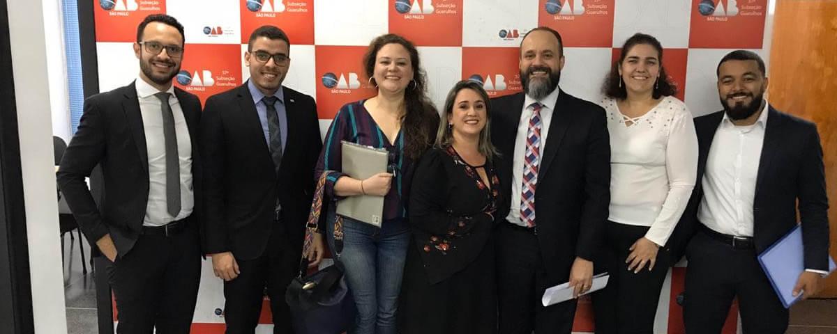 Comissões da OAB Guarulhos planejam conjuntamente a realização de um ciclo de audiências simuladas