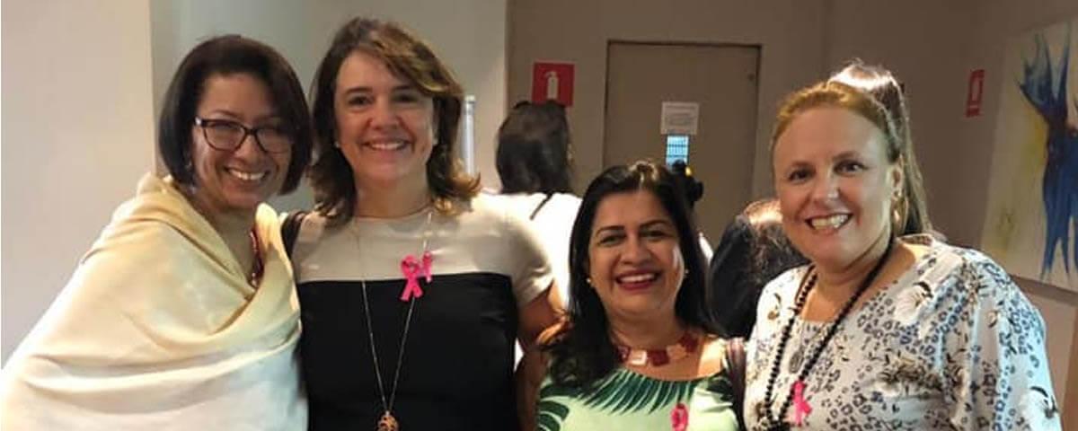 OAB Guarulhos participa da Abertura da Campanha Outubro Rosa da Seccional São Paulo