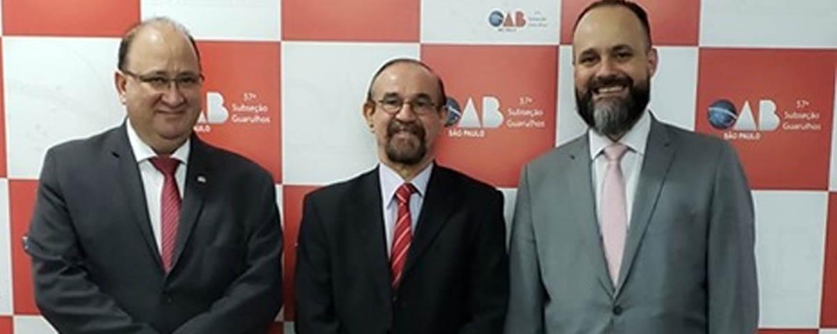 OAB Guarulhos recebe o Professor e Doutrinador Dr. Cesar Roberto Bitencourt