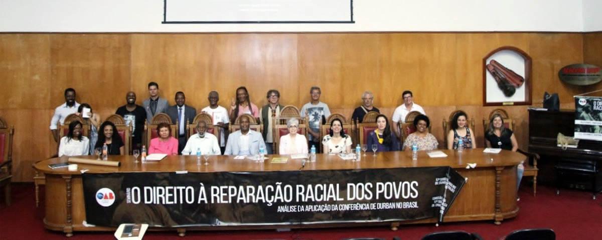 Seminário sobre o Direito à Reparação Racial dos Povos