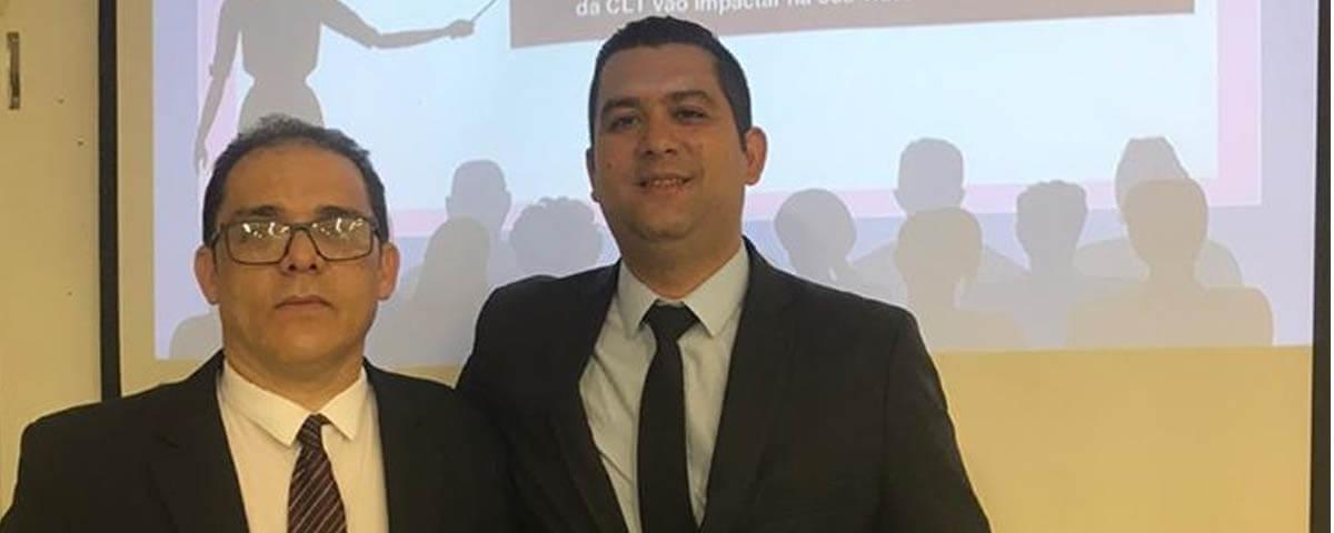 """Comissão OAB Vai à Escola ministra palestra sobre """"Direito do Trabalho"""" na Escola EPG. Profa. Maria Célia Falcão"""