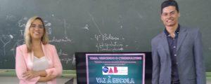 "Comissão OAB Vai à Escola ministra palestras sobre ""Bullying"" na Escola EPG. Ênio Chiesa"