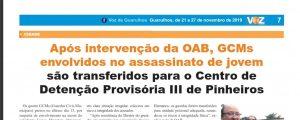 Intervenção da OAB Guarulhos