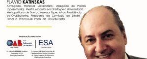 """02 a 13/12 – ESA Guarulhos – Curso: """"Processo Disciplinar no Âmbito da Polícia Civil do Estado de São Paulo"""""""