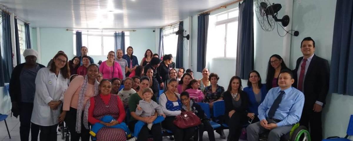 Comissão do Idoso e Pessoa com Deficiência da OAB Guarulhos ministra palestra no Ambulatório das Casas André Luiz