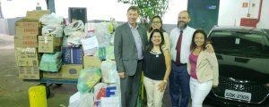 OAB Guarulhos realiza a entrega de arrecadações para o Projeto Dia Feliz da FIG- UNIMESP