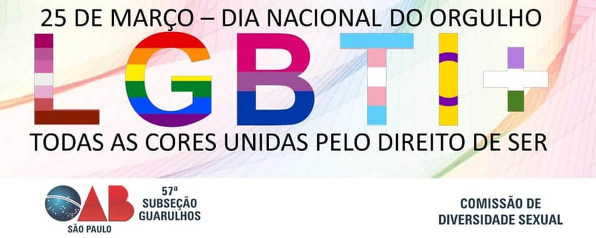 Dia Nacional do Orgulho LGBTI +