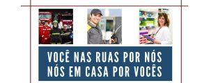 A OAB Guarulhos parabeniza todos os profissionais que estão nas ruas se arriscando durante a pandemia