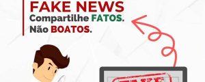 Fake News – Compartilhe fatos. Não boatos