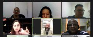 Primeira reunião telepresencial da Comissão de Direitos Humanos