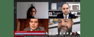 Audiência Simulada Telepresencial (vídeo)