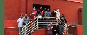 Distribuição de café da manhã, cobertores e máscaras doados na Campanha Inverno Solidário organizada pela OAB Guarulhos
