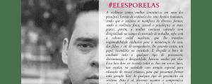 #ElesPorElas – Testemunho do Dr. Abner Alves Vidal