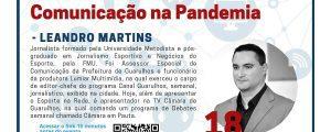 18/08 – Novas Formas de Comunicação na Pandemia