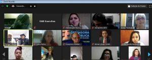 Happy Hour Virtual da OAB Guarulhos