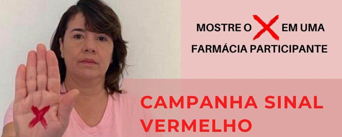 Você não está sozinha! Campanha Sinal Vermelho – Dra. Valéria Norberto Figueiredo