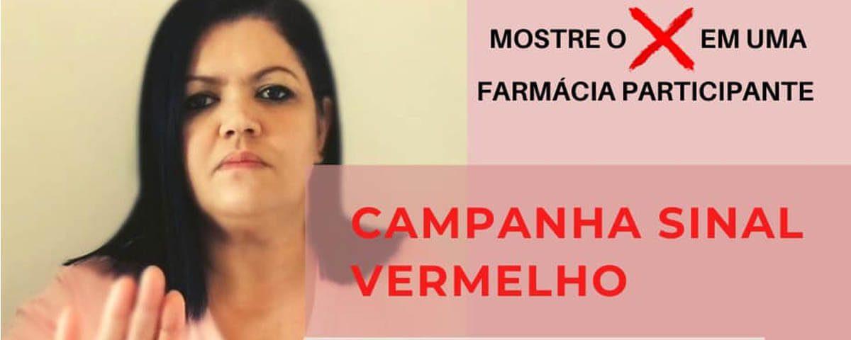 Você não está sozinha! Campanha Sinal Vermelho – Dra. Rosemeire Rodrigues Silva