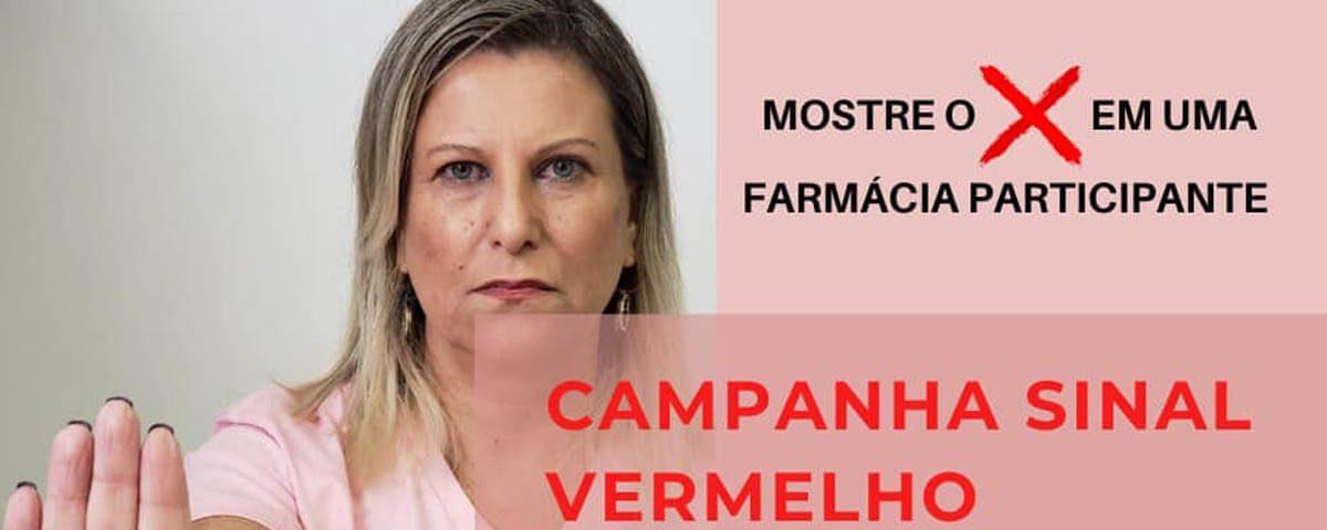 Você não está sozinha! Campanha Sinal Vermelho – Dra. Valéria dos Santos