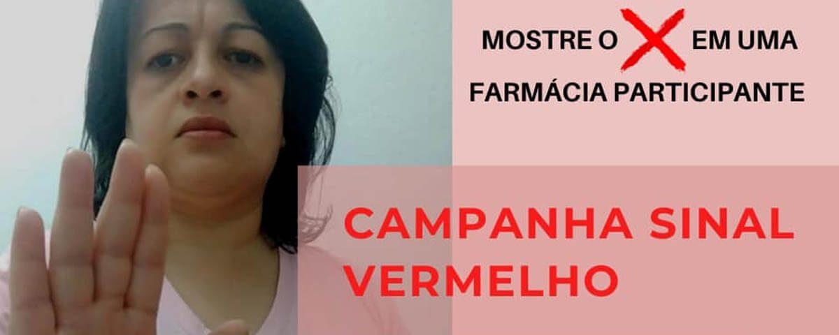 Você não está sozinha! Campanha Sinal Vermelho contra a Violência Doméstica – Dra. Rute Ferreira e Silva