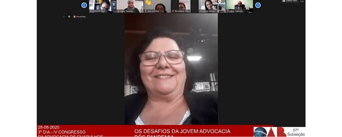 Transmissão do 3º dia do IV Congresso da Advocacia de Guarulhos