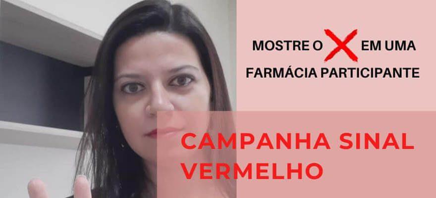 Você não está sozinha! Campanha Sinal Vermelho – Dra. Livia Fernanda Mazaro