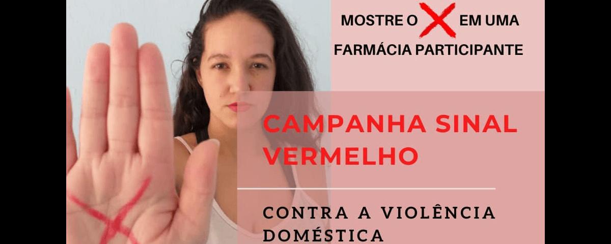 Você não está sozinha! Campanha Sinal Vermelho – Sra. Natalia Modesto Lira
