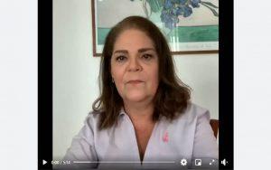 #OutubroRosa –  A Dra. Heloisa Helena Ferreira Sampaio, médica ginecologista, traz uma mensagem importante a respeito da prevenção e diagnóstico precoce do câncer de  mama.