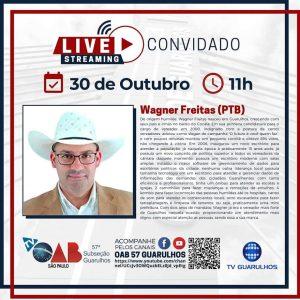 Entrevistas com os candidatos à prefeitura de Guarulhos- Candidato Wagner Freitas (PTB)