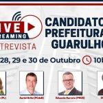 27 a 30/10 – Entrevistas com os Candidatos à Prefeitura de Guarulhos
