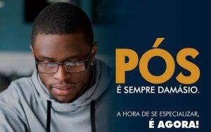Read more about the article Nosso parceiro Damasio Educacional está com as inscrições abertas para os cursos de Pós Graduação