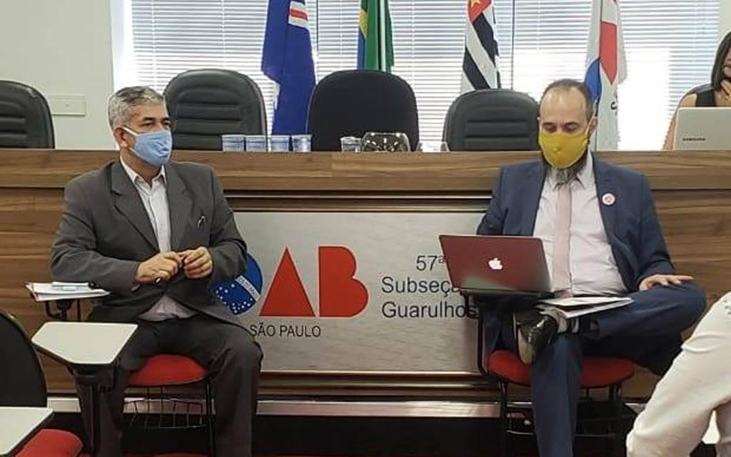 Reunião para alinhar os detalhes para as entrevistas com os candidatos à prefeitura de Guarulhos