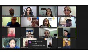 Read more about the article Rotary Norte Centenário realiza reunião e a Comissão OAB Vai à Escola participa para divulgar a Cartilha Digital Conexão Escola